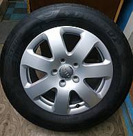 255/55/R18 Audi Q7 Комплект литые диски + шины 4шт. Лето