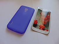 Чехол силиконовый LG Optimus L7 II Dual P715 violet