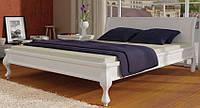 Кровать деревянная Палермо 140х200 Elite-Grand сосна белая