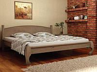 Кровать деревянная Манхеттен 140х200 Elite-Grand сосна орех темный new