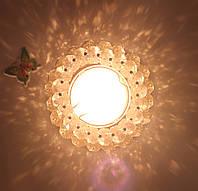 Точечный светильник Feron CD4141 MR16 чёрный-золото (и другие цвета)