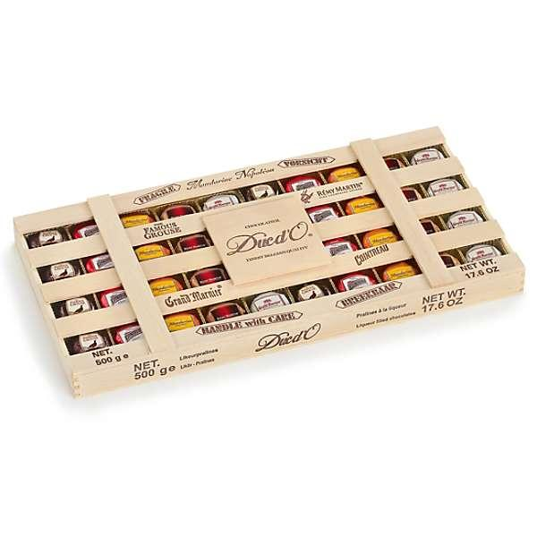 Подарункова коробка шоколадних цукерок Remy Martin Duc d'or Chocolatier, 500 грам