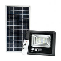 Прожектор світлодіодний з сонячною панеллю TIGER-25 IP65 SMD LED 25W 6400K