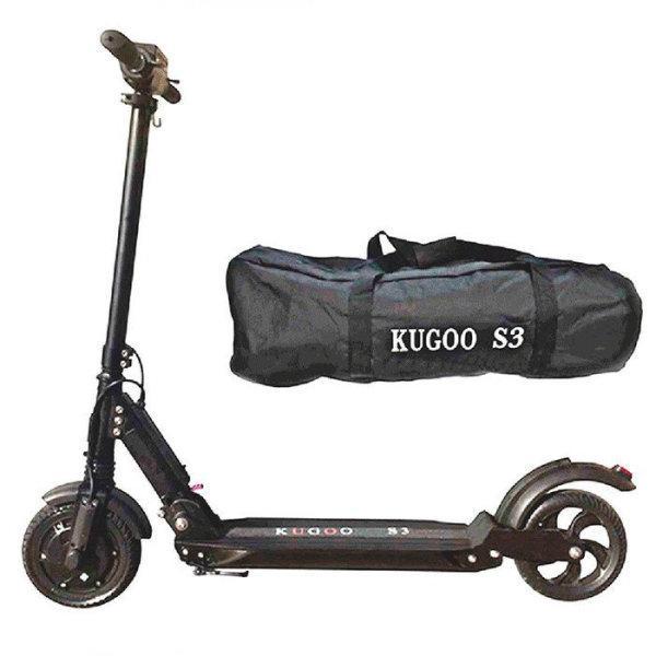 Электросамокат Kugoo S3 E-Scooter 2020 (вес 11 кг), 28 км/ч, выдерживает до 120 кг. Гарантия 12 мес