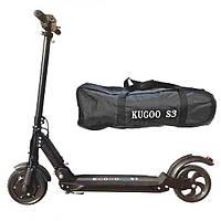 Электросамокат Kugoo S3 E-Scooter 2020 (вес 11 кг), 28 км/ч, выдерживает до 120 кг. Гарантия 12 мес, фото 1