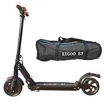 Электросамокат Kugoo S3 E-Scooter 2020 (вес 11 кг), 35 км/ч, выдерживает до 120 кг. Гарантия 12 мес