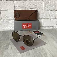 Солнцезащитные очки RAY BAN 3447 ROUND коричневый