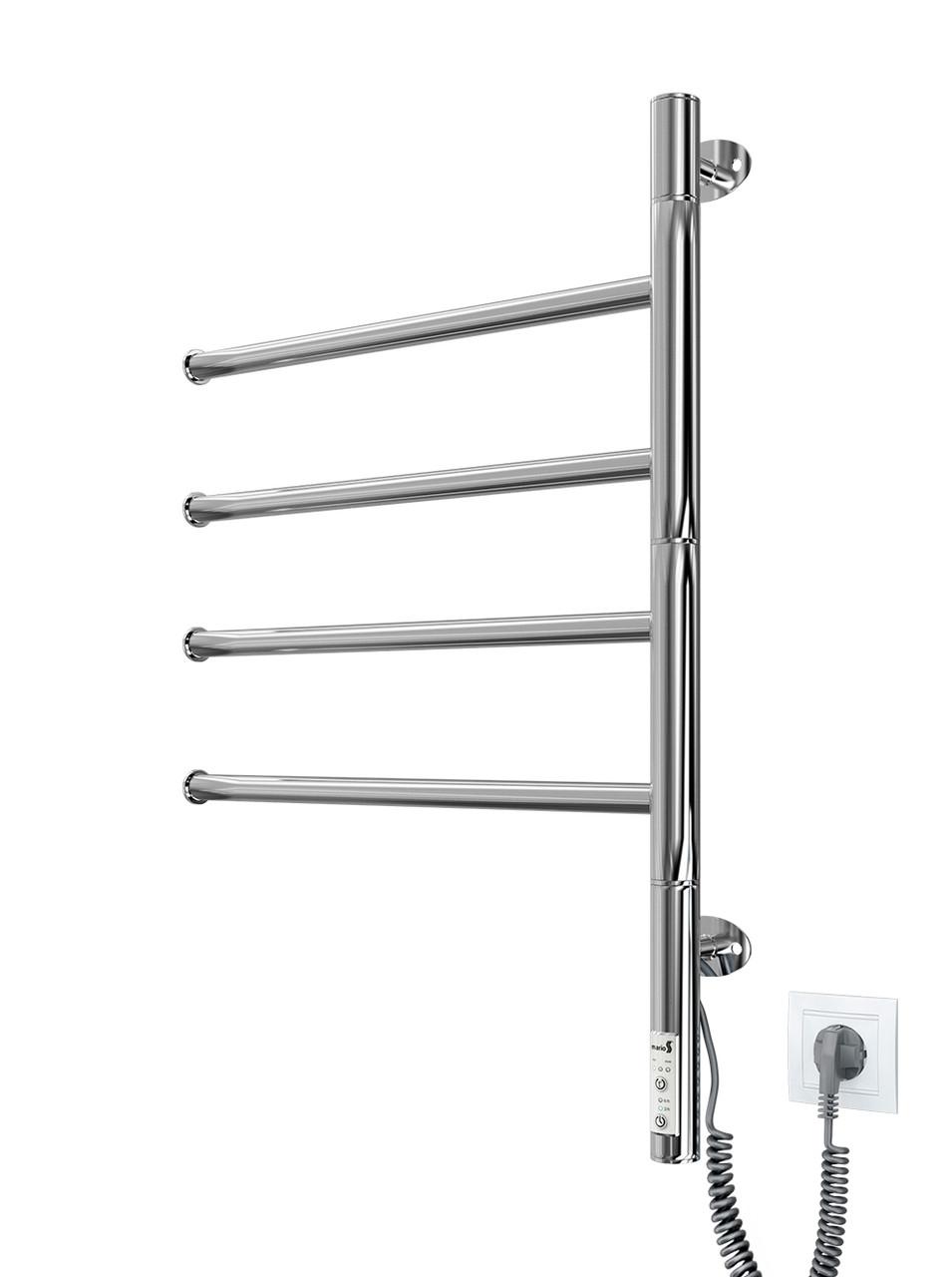 Электрический полотенцесушитель Mario Веер -I 600х445 TR таймер-регулятор