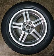 255/55/R18 Nissan Pathfinder Комплект литые диски + шины 4шт. Лето