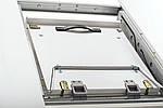 Стол МДФ+матовое стекло TMM-53-2 белый⠀, фото 9