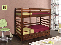 Кровать двухъярусная Засоня, 800х1900 мм, с ящиками для белья