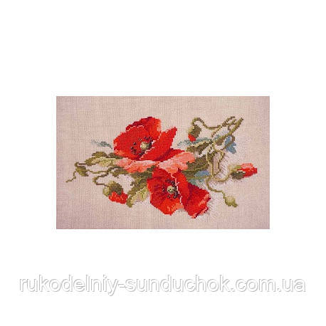Набор для вышивания крестом ТМ Марья Искусница 06.002.66 Яркие алые