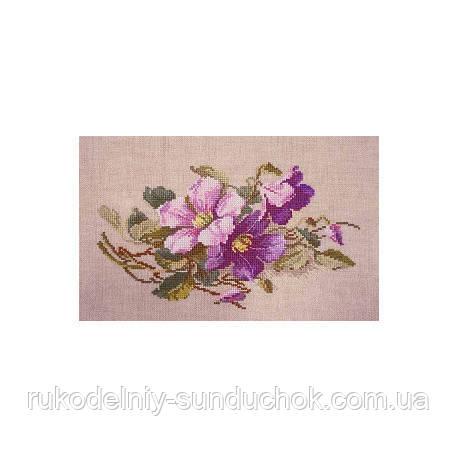 Набор для вышивания крестом ТМ Марья Искусница 06.002.65 Элегантные фиолетовые