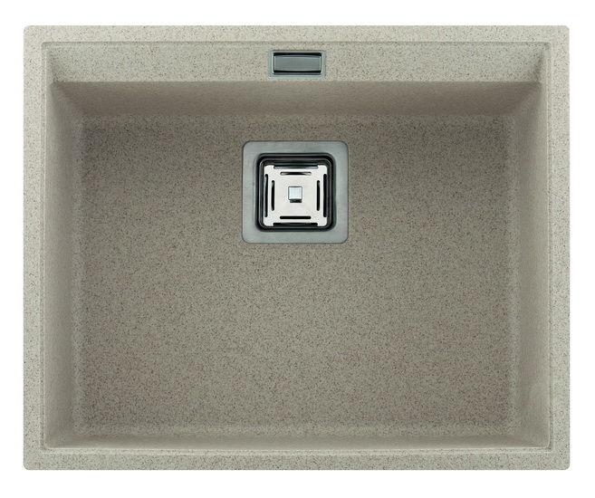 Кухонная мойка Aquasanita SQD100 Delicia 555X455(под столешницу)
