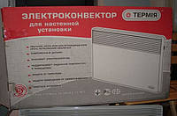 """Электроконвектор """"Термия"""" ЭВНА (настенный), 2,5 КВт,С(450мм),сш(2 выкл, шт.реш)"""