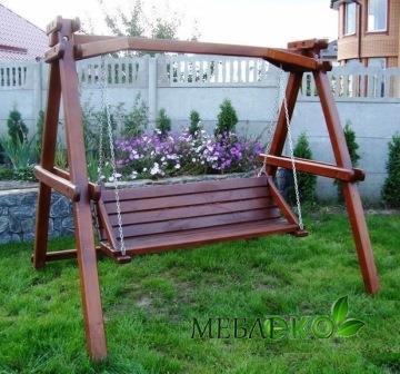 Качель садовая купить, Качели Простые - МебліЕко в Мукачево