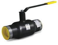 Кран шаровый  приварной стандартнопроходной LD Ду100/80 Ру25