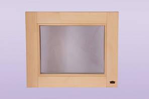 Оконный блок для сауны и бани «Глухой»