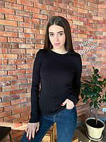 Женский джемпер свитер 42/46 черный