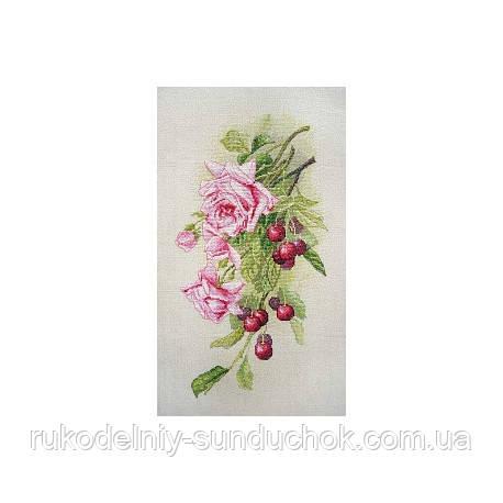 Набор для вышивания крестом ТМ Марья Искусница 06.002.44 Розы и вишня