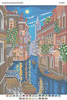 """Схема для полной зашивки бисером """"Венеция"""""""