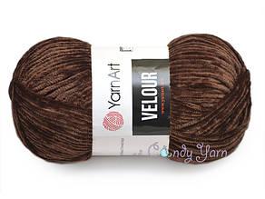 YarnArt Velour, Коричневый №852