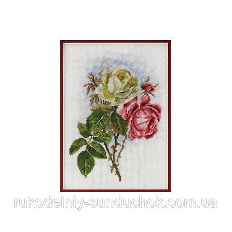 Набор для вышивания крестом ТМ Марья Искусница 06.002.16 Садовая роза