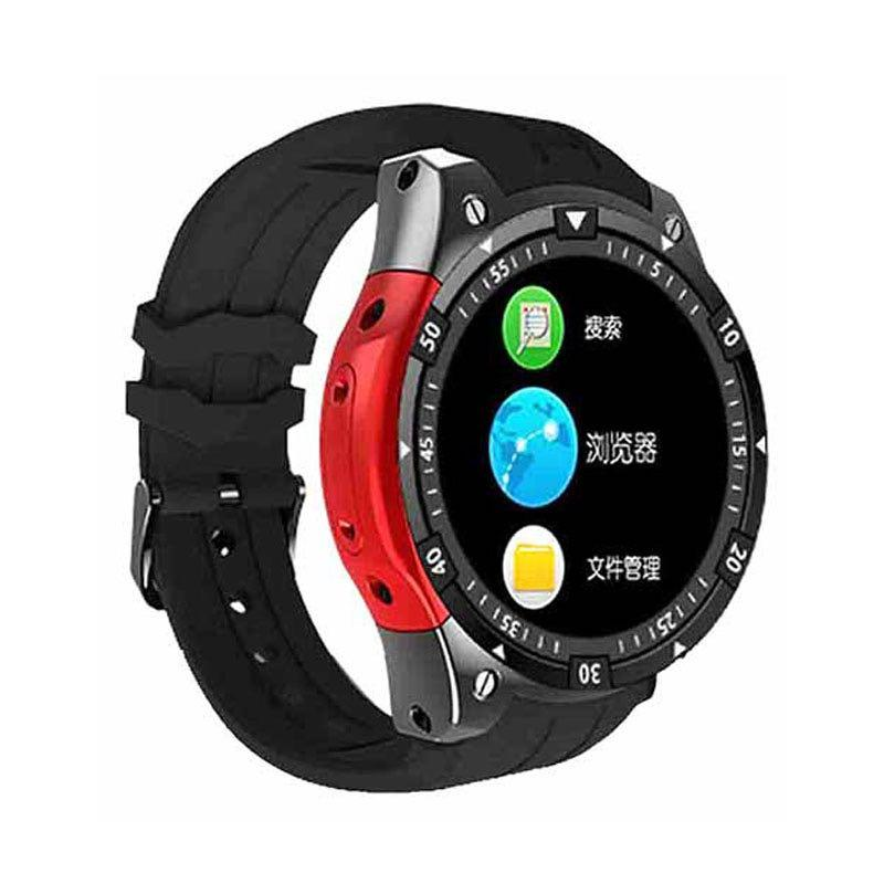 Умные часы Smart Watch X100 Black Android Red (SW0X100BR)
