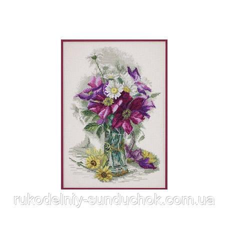 Набор для вышивания крестом ТМ Марья Искусница 06.002.13 Цветочное очарование