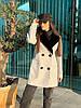Женское демисезонное пальто с меховым воротником 42-46 р, фото 6