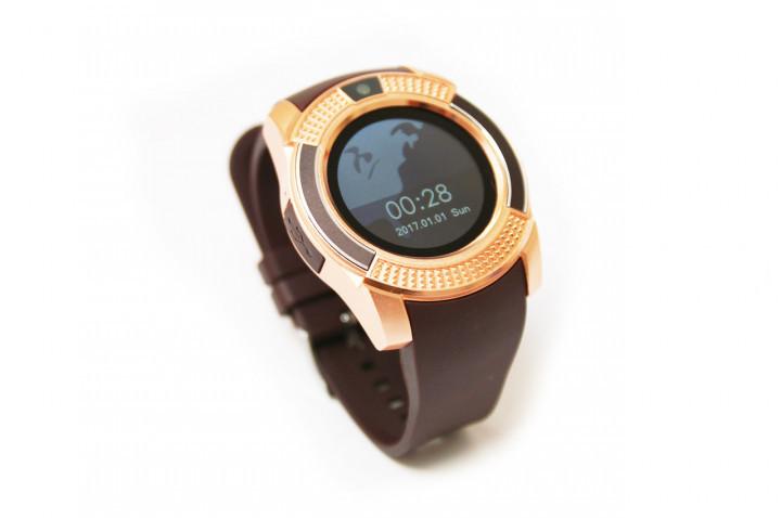 Умные часы UWatch SmartWatch SW V8 Gold (70_1348800)