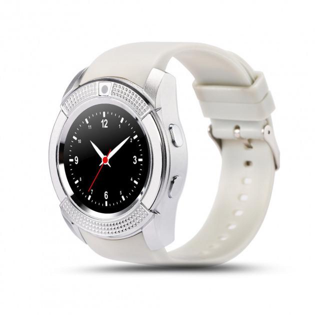Умные часы UWatch SmartWatch SW V8 White (70_1342400)