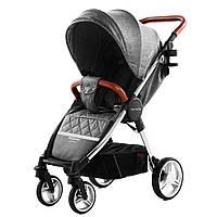 Детская прогулочная коляска CARRELLO Milano CRL-5501 Серый (CRL-5501 Carbon Grey)