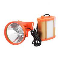 Ліхтар налобний шахтарський Small Sun ZY-H49-5W