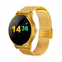 Умные часы Smart Watch K88H классические IPS с шагомером и пульсометром Gold (SWK88HG01)