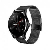 Умные часы Smart Watch K88H классические IPS с шагомером и пульсометром Black (SWK88HB01)