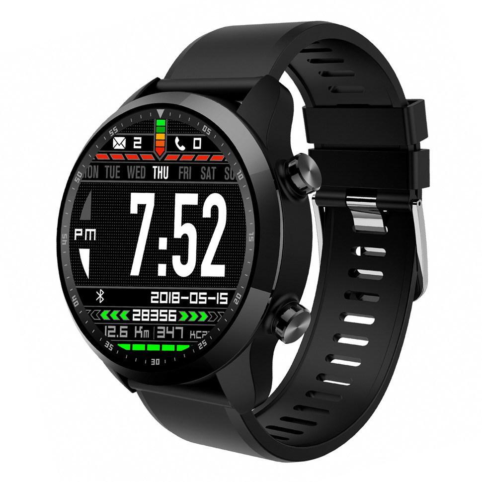 Умные часы King Wear KC06 с поддержкой 4G и встроенным GPS Черный (swkingwkc06bl)