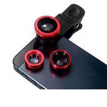 Линзы для камеры смартфона 3 в 1, фото 3