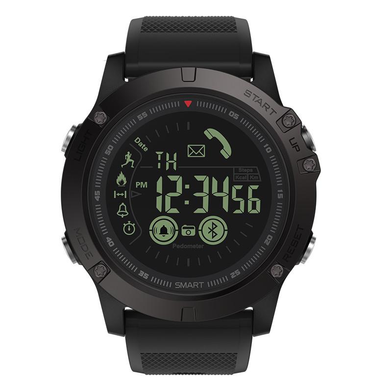 Умные часы Zeblaze VIBE 3 с шагомером и счетчиком калорий Черный (swzebvibe3bl)