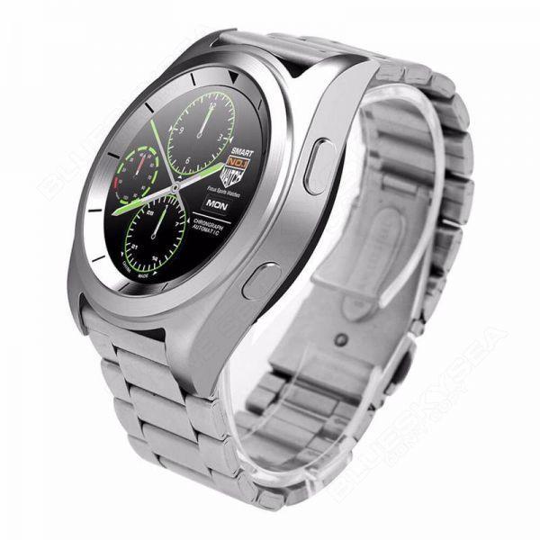 Умные часы No.1 G6 metal Серебристый (swno1g6metsi)