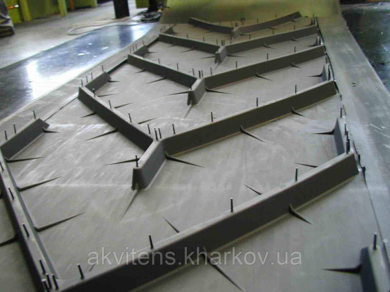 Конвейерные шевронные ленты (CHEVRON, для крутонаклонных конвейеров)