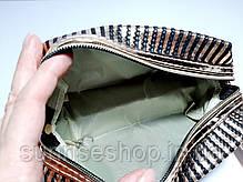 Косметички женские кожзаменитель форма бочонок купить оптом, фото 3