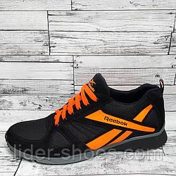 Мужские кроссовки в стиле Reebok на шнурках
