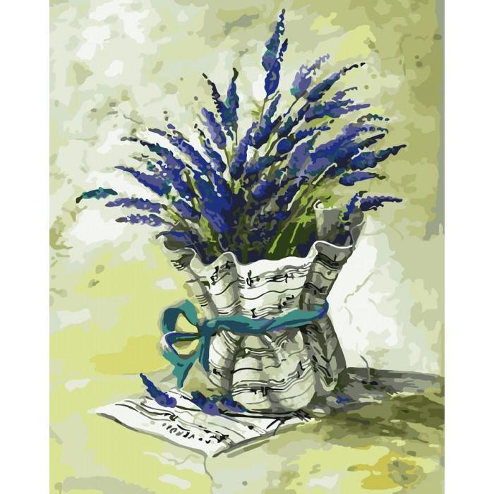 Картина по номерам Идейка - Мелодия прованса 40x50 см (КНО2036)