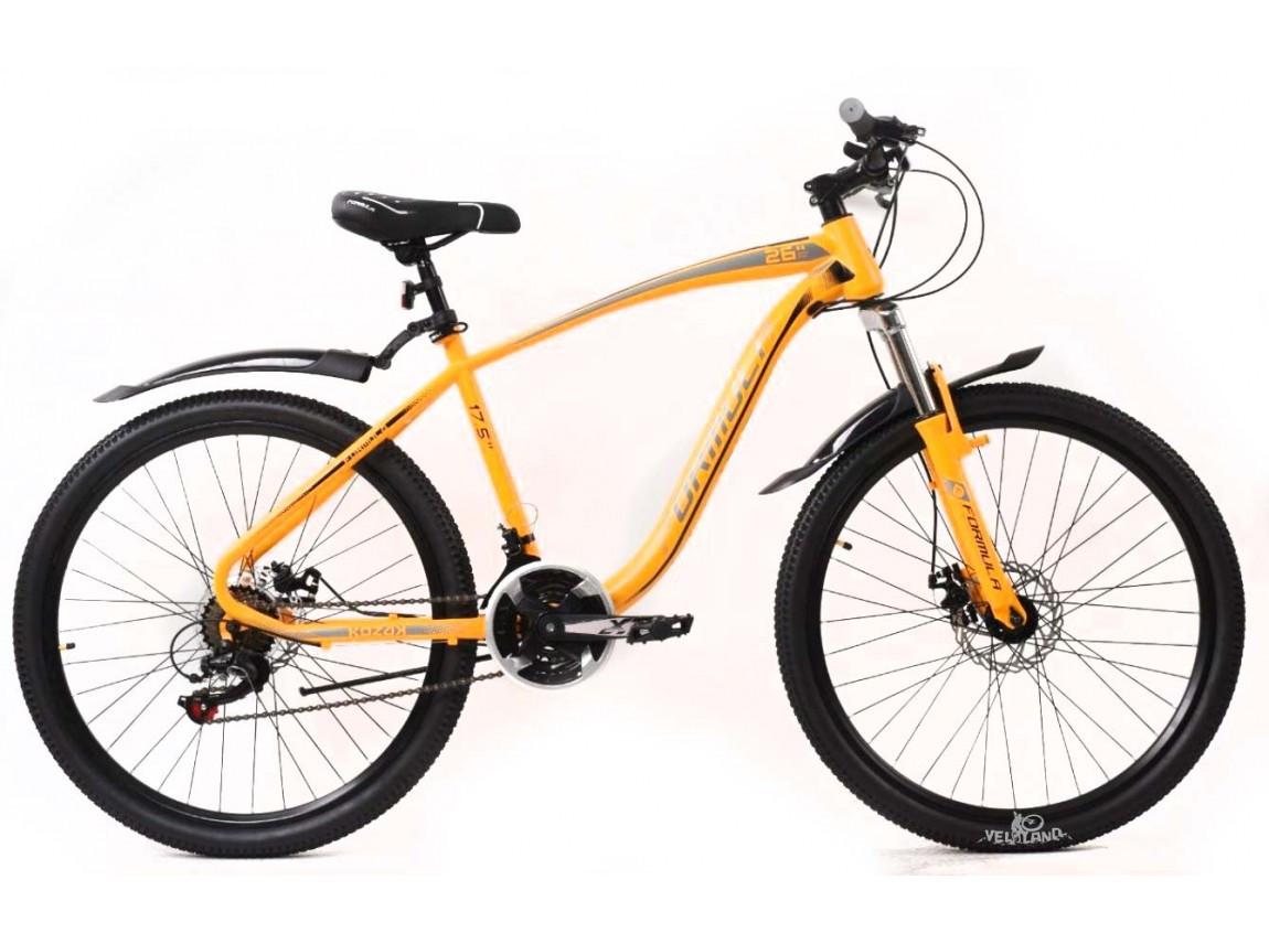 """Горный велосипед  26"""" Formula KOZAK с крылом Pl 2020 ST"""