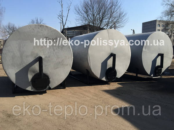 Печи для производства древесного угля 25 м3 Житомир