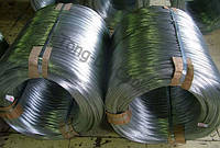 Проволока оцинкованная термически необработанная(твердая), ГОСТ 3282-74