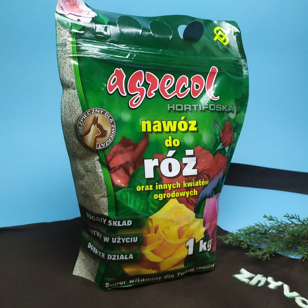 Добриво Agrecol для троянд Hortifoska 3 кг