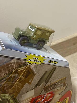 Трек Тачки Сержант на військовій базі (Disney/Pixar Cars Sarge's Stuntin' Surplus Playset), фото 2