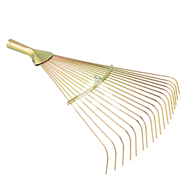 Грабли веерные прутковые с регулировкой ширины 18 прутов (480 г)